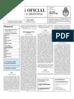 Boletin Oficial 19-07-10 - Segunda Seccion