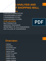 Planning Analysis and Design Of Shopping mall