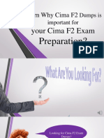 Cima F2 Questions Answers Exam PDF Dumps with 100% passing guarantee