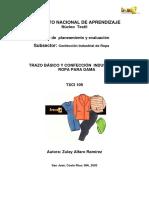 Trazo Basico y Confeccion Industrial de Ropa para Dama.pdf