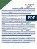 IEA Report 27th April 2017