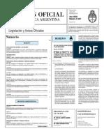 Boletin Oficial 20-07-10 - Primera Seccion