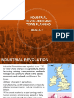 Industrial revolution and town planning