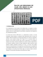 Historia de Las Máquinas de Calcular
