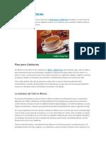 Plan Para Cafeterías