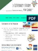 child literacy study presentation