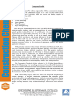 1. Imporient Chemicals Company Profile Admixture