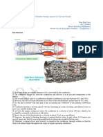 Gas Turbine Combustion Chamber Design Aspects & Current Trends