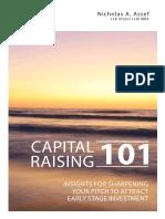 Capital Raising 101