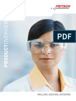 Laboratorul Fritsch Sartorom ProductOverview_SAMPLE_PREPARATION