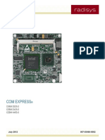 CE8M COM Express Module Product Manual - Radisys
