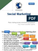 Social Marketing in practice