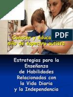 Actividades de Vida Diaria en Niños Con Autismo Por Vanesa Perez - Copia