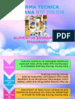 Normas Tecnicas Envases y Embalajes Lacteos (1)