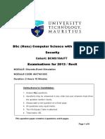 Math 2133 Exam 2013 Final