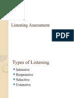 Listening Assessment 17-Apr