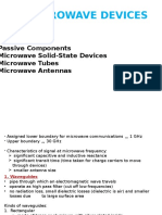 Microwave Devices 1