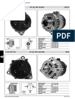 Alternator Cross Reference
