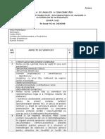 Grila de Analiză a Conformităţii SF_DALI (HG Nr. 28_2008)