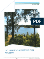 DNV ISO 14001 Study Guide Lead Auditor