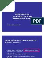 Petrografija Vulkanoklasticnih Sedimentnih Stena