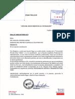 Carta Al Proyecto Especial Chavimochic