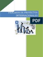 Fracasos de Proyectos