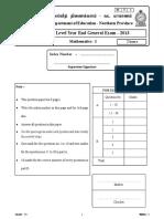 EOL Mat Paper1 Nothern 2013 (1)