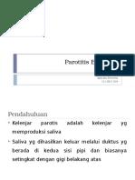 Parotitis Bakterial