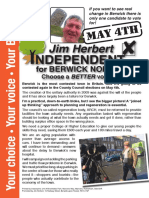 Election Leaflet 27/4/17