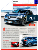 """NOVO RENAULT CLIO NA """"CARROS & MOTORES"""""""