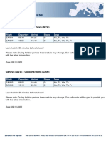 EAE w41 2006 Eng Timetable
