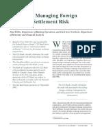 CLS FX Settlement Risk