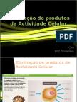 Eliminação de Produtos Da Actividade Celular