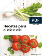 eBook Gratuito Recetas Para El Día a Día