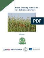 Crop Production Training Manual