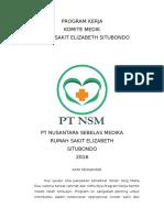 Program Kerja Komite Medik ( Yang Benar )