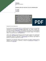 MADISON Preparación de Proyectos de Inversion(Ultimo)