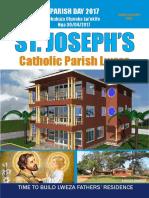 April 30 2017 Lweza Parish Day Magazine Small