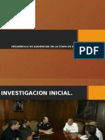 Etapa de Investigacion Inicial