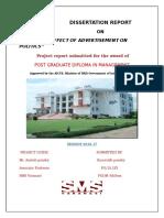 ''EFFECT OF ADVERTISEMENT ON POLITICS''.docx