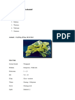 Jenis-jenis Mineral Radioaktif Autunit C