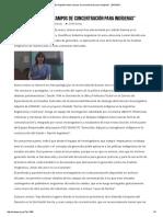 """""""en Argentina Hubo Campos de Concentración Para Indígenas"""" _ ENDEPA"""