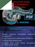Bedah Paliatif Pada Kanker Pankreas Unresectable1