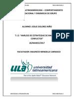 Universidad Latinoamericana Comportamien