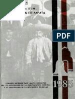 10DeMarzoDe1911SublevacionDeZapata