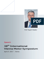 Speech Rupert Stadler at the Vienna Motor Symposium 2017