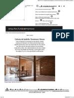 Celosía de Ladrillo. Termitary House _ Arquitectura