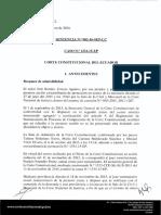 Caso Utreras Aguirre (casación y AEP)