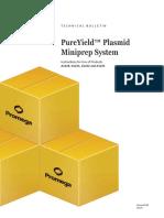Pureyield Plasmid Miniprep Protocol Promega